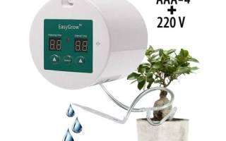 Набор для капельного полива домашних растений с таймером easy grow