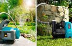 Как выбрать водяной насос для дачи для полива из емкости