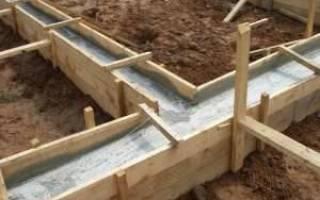 Уход за бетоном после заливки осенью