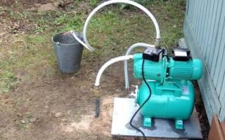 Что лучше для полива огорода насос или насосная станция