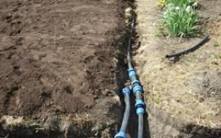 Разводка воды для полива на дачном участке своими руками